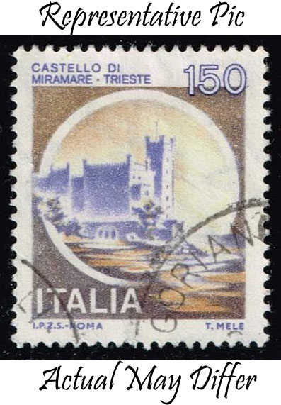 Italy #1417 Miramare Castle; Used at Wholesale (0.25)