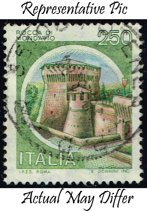 Italy #1421 Cerro al Volturno Castle; Used at Wholesale