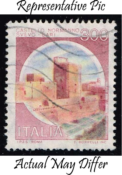 Italy #1422 Svevo Castle; Used at Wholesale (0.25)