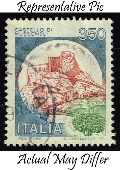 Italy #1423 Mussomelli Castle; Used at Wholesale (0.25)