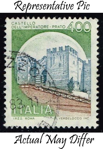 Italy #1424 Imperatore-Prato Castle; Used at Wholesale