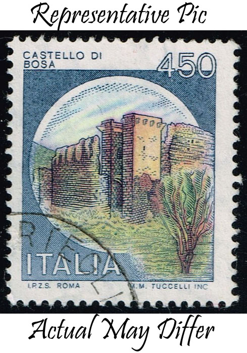 Italy #1425 Bosa Castle; Used at Wholesale (0.25)