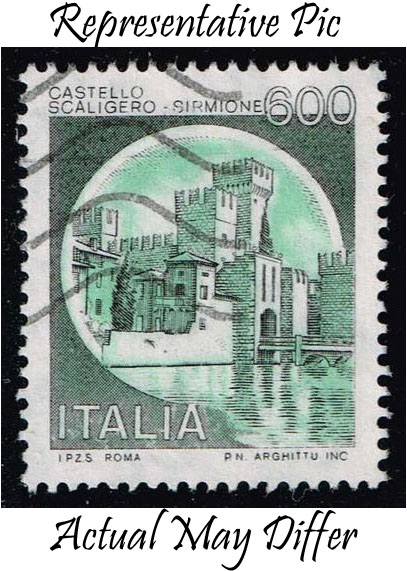 Italy #1427 Scaligero Castle; Used at Wholesale (0.25)