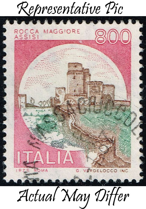 Italy #1429 Rocca Maggiore Castle; Used at Wholesale (0.25)