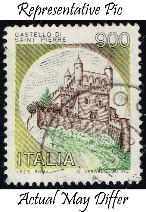 Italy #1430 St. Pierre Castle; Used at Wholesale (0.25)
