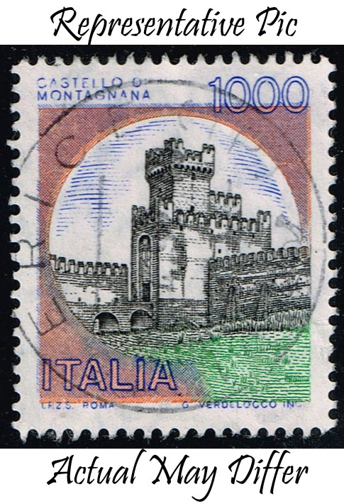 Italy #1431 Montagnana Castle; Used at Wholesale (0.25)