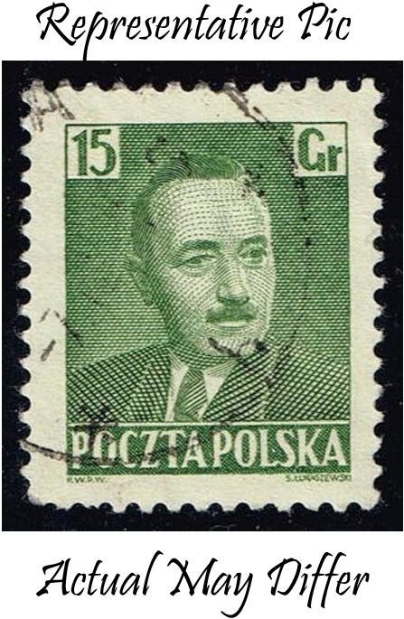 Poland #492 Pres. Boleslaw Bierut; Used at Wholesale (0.25)
