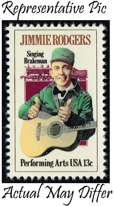 US #1755 Jimmie Rodgers; MNH at Wholesale (0.25)