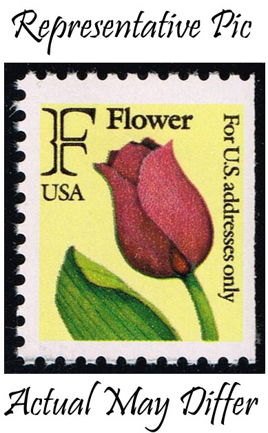 US #2519 Flower - Rate Change Stamp; MNH at Wholesale