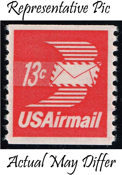 US #C83 Winged Envelope; MNH at Wholesale (0.30)