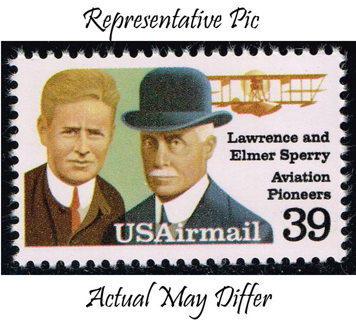 US #C114 Lawrence & Elmer Sperry; MNH at Wholesale (0.80)